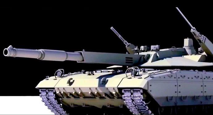 T-14 Armata. [Ekran görüntüsü/YouTube]