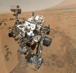 Curiosity selfie. [NASA/JPL/Caltech)