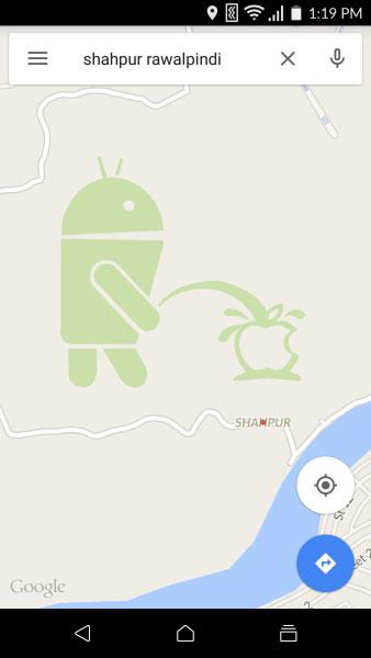 Çizim mobilde de görülebiliyor. [Team Android]