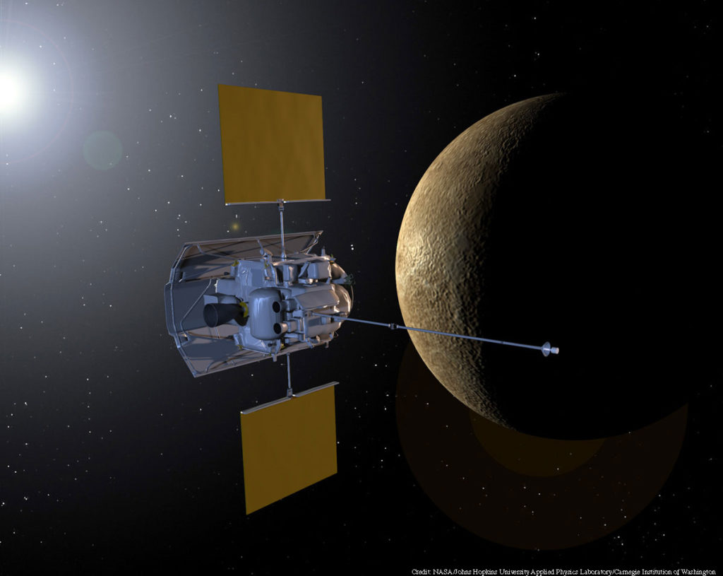 Merkür, 10 yılı geride bıraktığı görevde 12,8 milyar kilometre yolu geride bıraktı ve 35 milyondan fazla fotoğraf çekti.