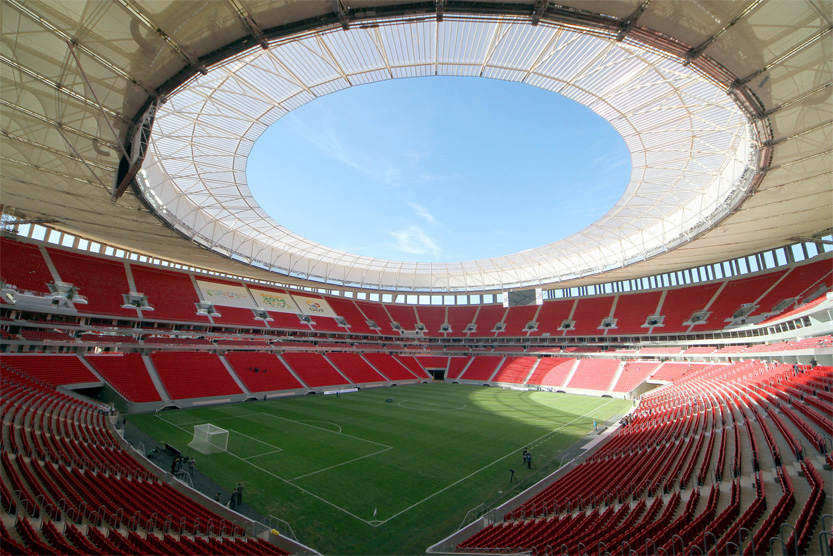Brezilya'nın Hollanda'ya kaybettiği üçüncülük maçı Estádio Nacional Mané Garrincha'da oynandı. [Wikipedia]
