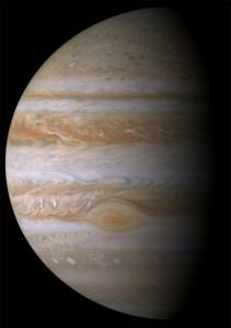 Cassini kamerasından Jüpiter. [NASA]