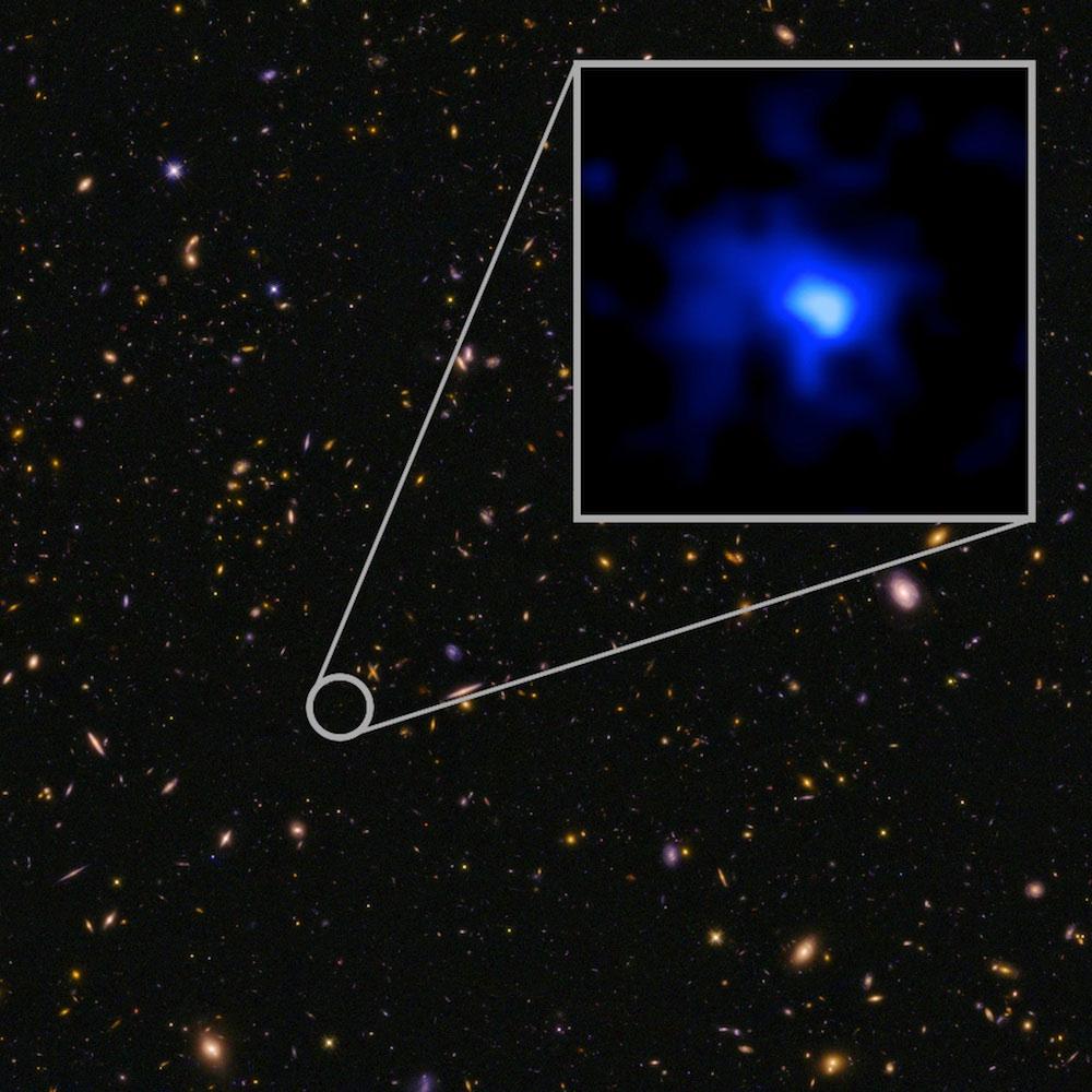 [NASA, ESA, P. Oesch/I. Momcheva/Yale University]