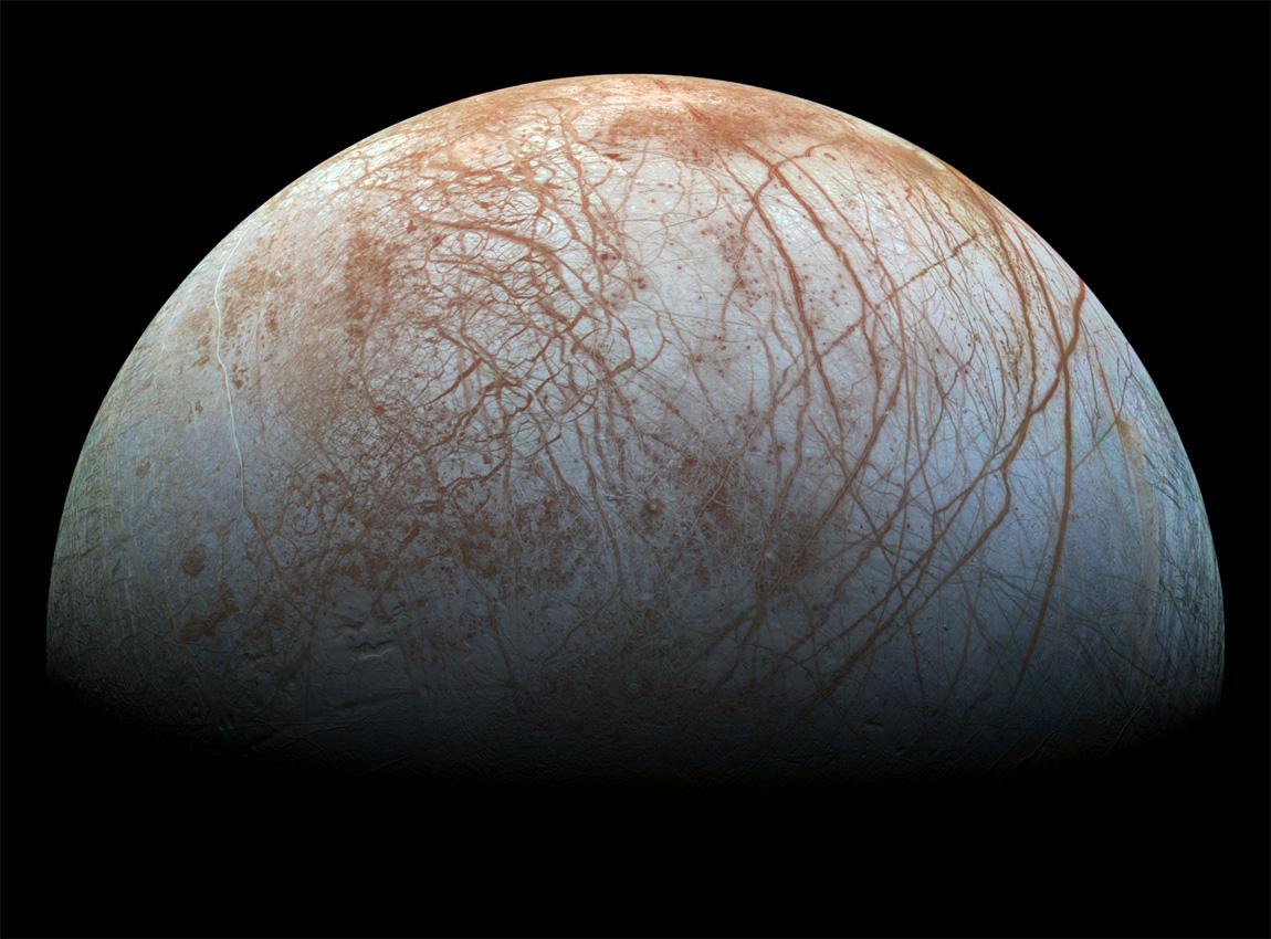 Europa. [NASA/JPL]