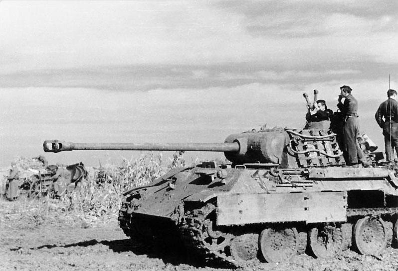 Alman Panther tankı 1943-45 yıllarında Doğu Cephesi'nde kullanıldı. [Wikipedia]