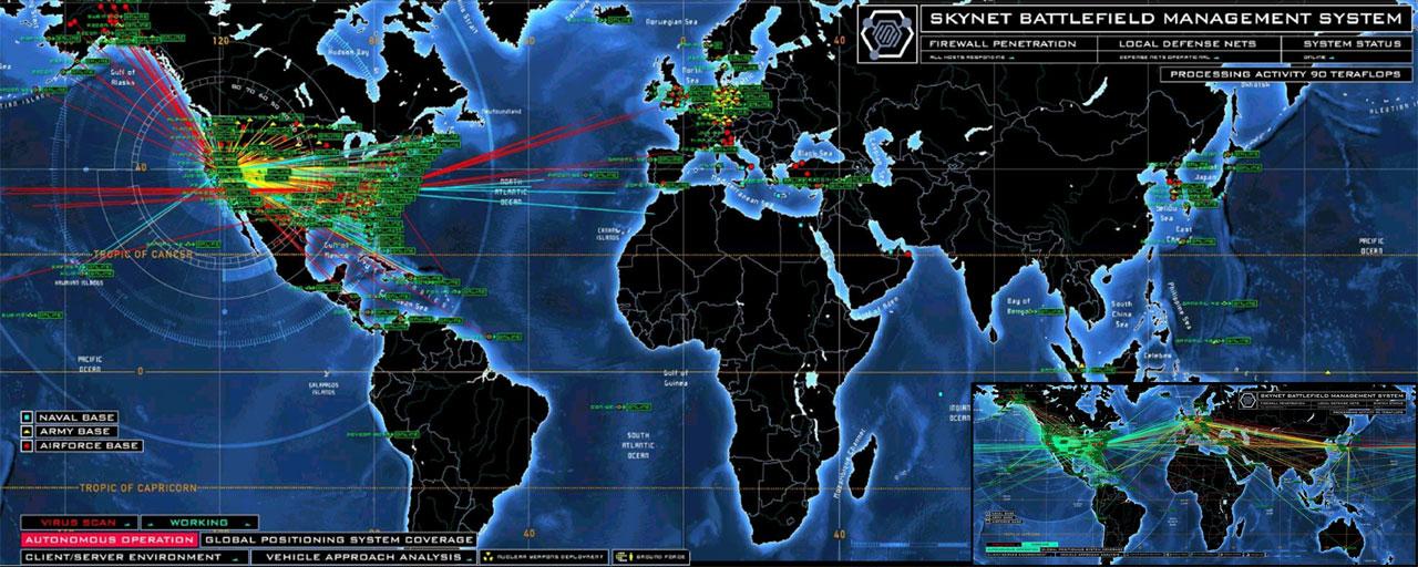 NSA'in Skynet arayüzü böyle olabilir. [Wiki]