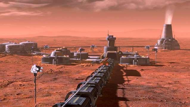 Mars'ı robotların eliyle yaşanabilir bir yere çevirmek de mantıklı olabilir.