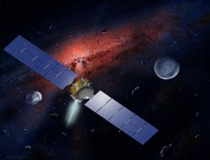 Dawn uzay aracına ait çizim. [Wikipedia]