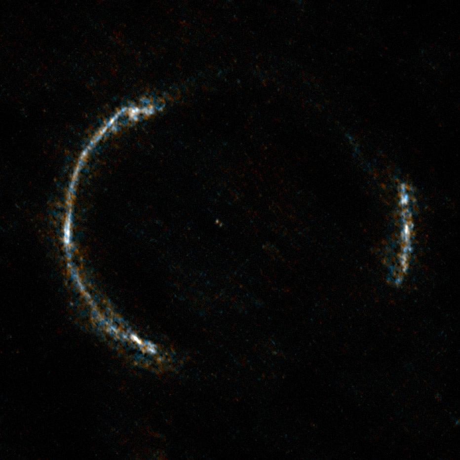 Uzak bir galakside yıldız oluşumuna tanık olan bölgeler ilk kez bu kadar detaylı görüntülendi. [ESO]