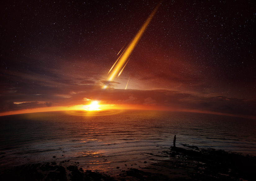 İnsanlığın yok olmak için meteora ihtiyacı kalmayacak. [Shutterstock]