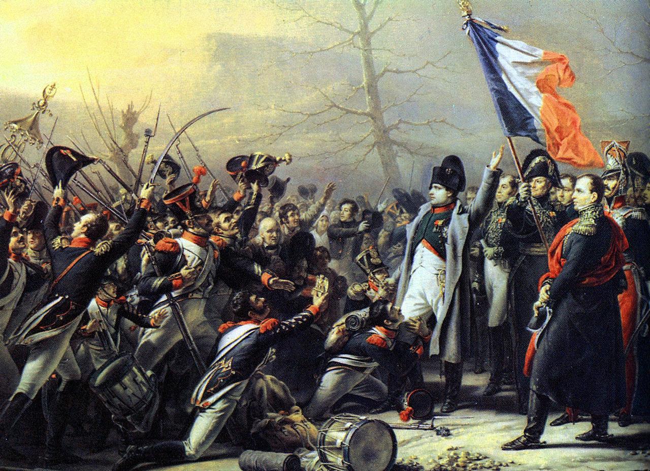 Napolyon'un Elbe'den dönüşü. [Karl Stenben/Wikipedia]