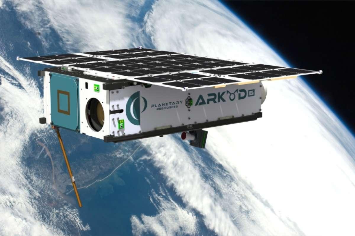 Gelecekte fırlatılacak olan Arkyd-6 uzay aracı. [Planetary Resources]