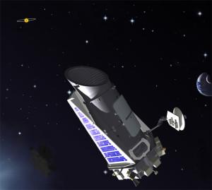 Kepler teleskobu. [NASA]