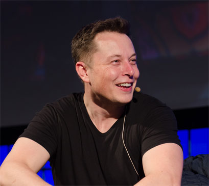 Iron Man ve Dr. Evil, yani Elon Musk [Wikipedia]