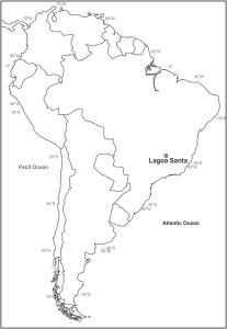 Lapa do Santo, Lagoa Santa bölgesinde yer alıyor. [PLOS ONE]