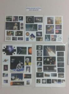 Çiğdem'in odasının duvarları uzay fotoğraflarıyla kaplı.