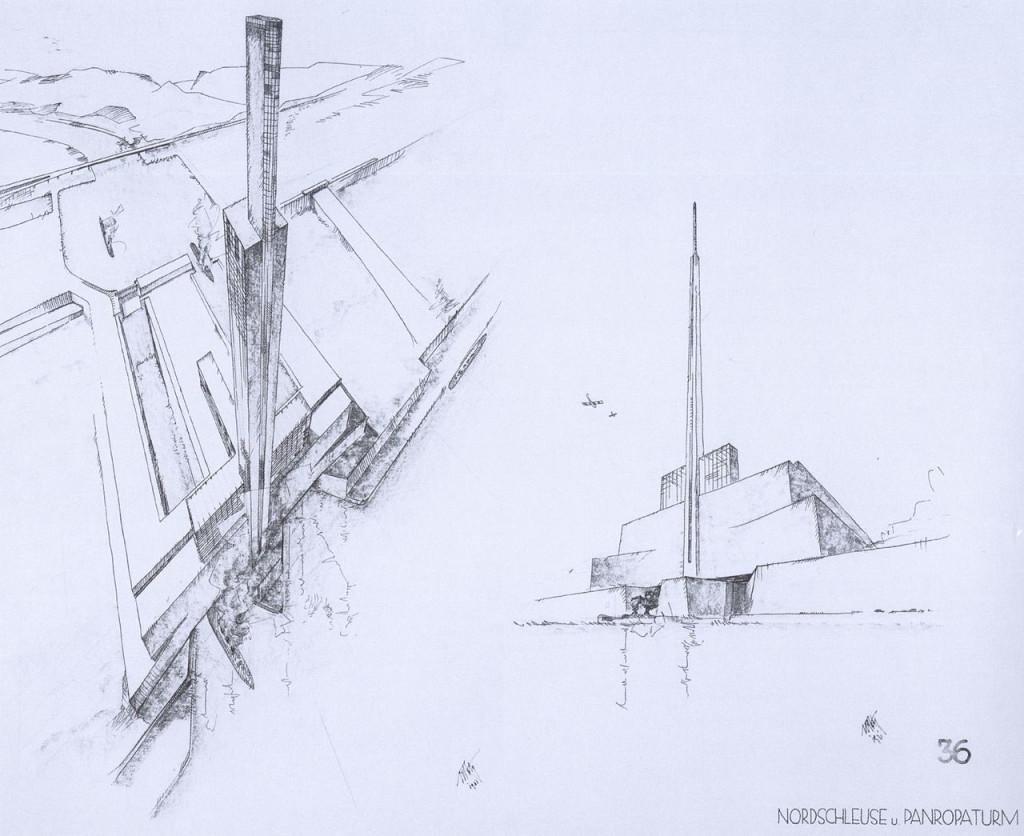 Cebelitarık Boğazı'nda inşa edilecek kilitler. [Wikipedia]
