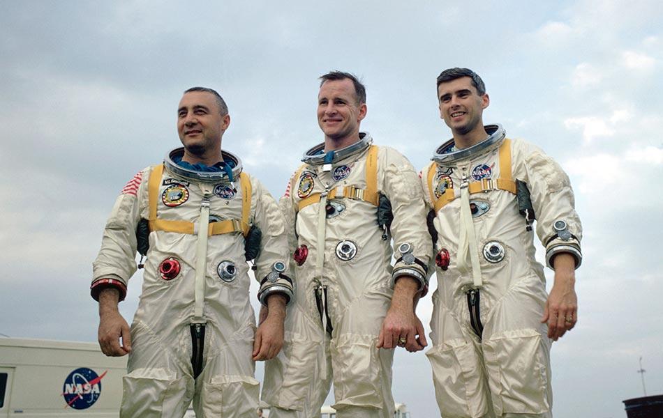 Apollo 1 ekibi. [NASA]