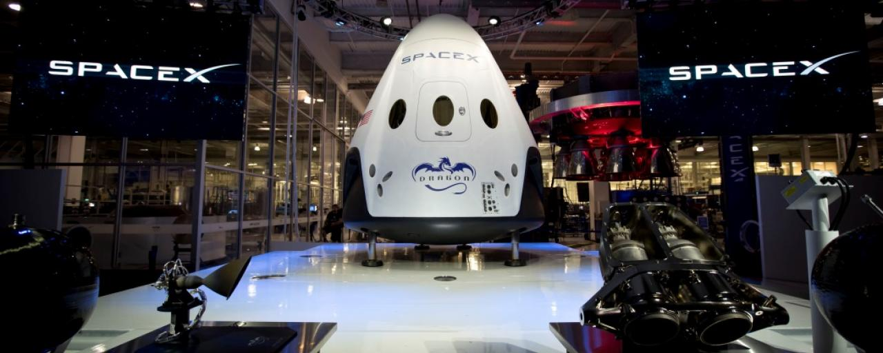 SpaceX'in Crew Dragon kapsülü