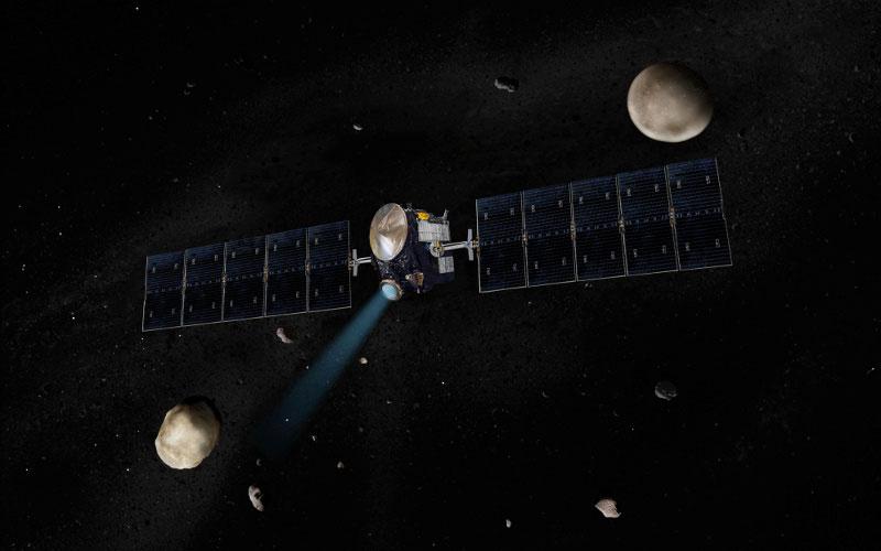 Dawn uzay aracı. [NASA]