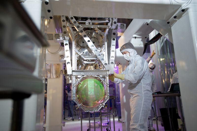 LIGO aynalarından bir tanesi. [LIGO]