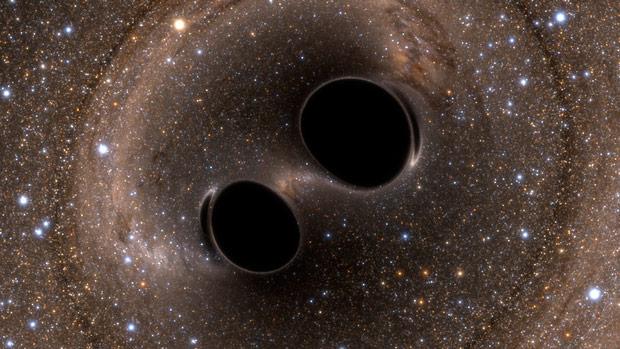 Çarpışan karadelikler astrofizikteki büyük bir gizemi ortadan kaldırdı. [NASA]