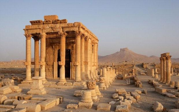 Baalşamin Tapınağı. [Wikipedia]