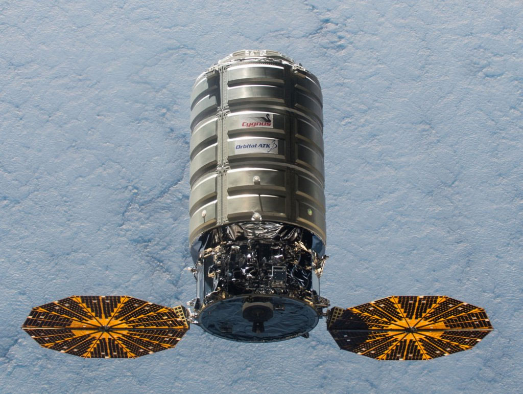 Cygnus. [Orbital ATK]