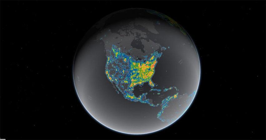 [Falchi et al, Science Advances; Jakob Grothe/National Park Service, Matthew Price/CIRES/CU-Boulder]