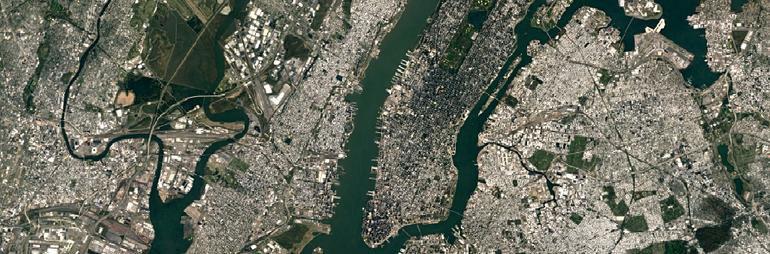 New York City'nin Google'daki yeni görünümü.