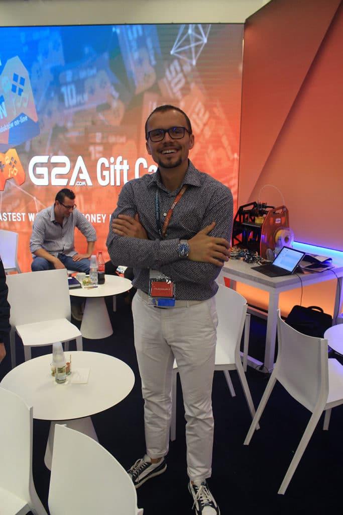 G2A ortak kurucusu ve CEO Bartosz Skwarczek. [Müfit Y. Gökmen/DijitalX]