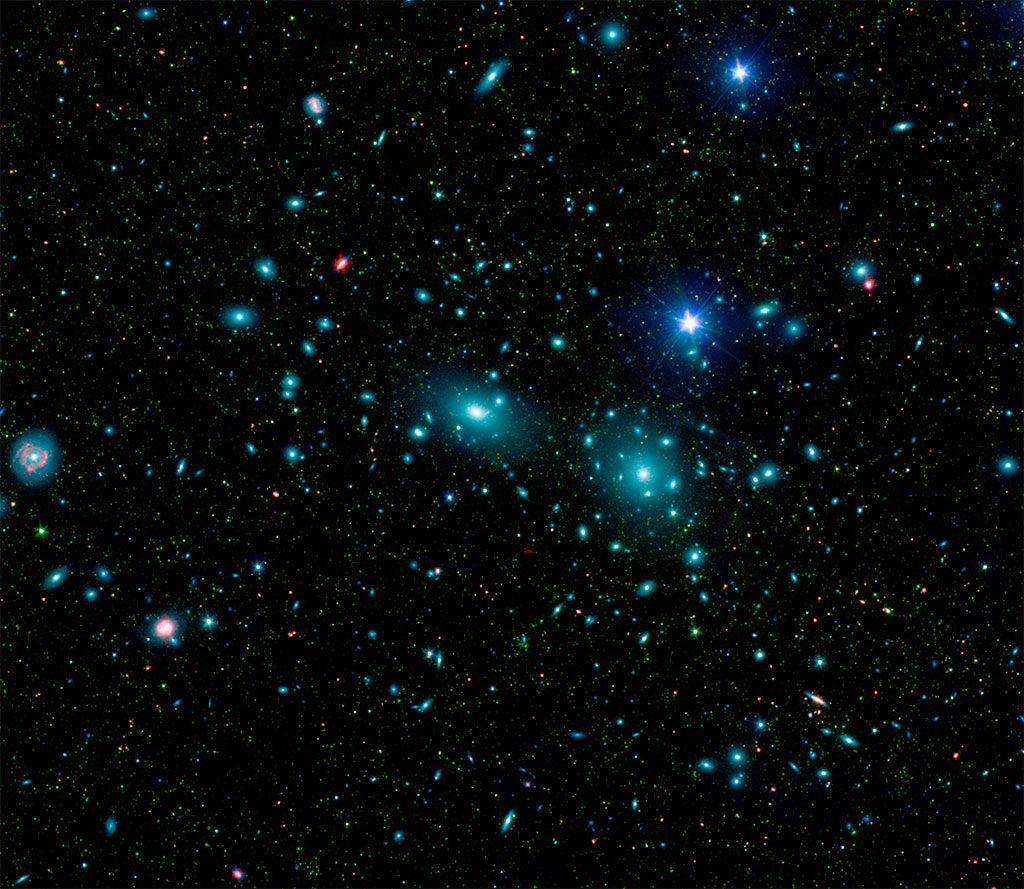 Coma galaksi kümesi. [NASA]