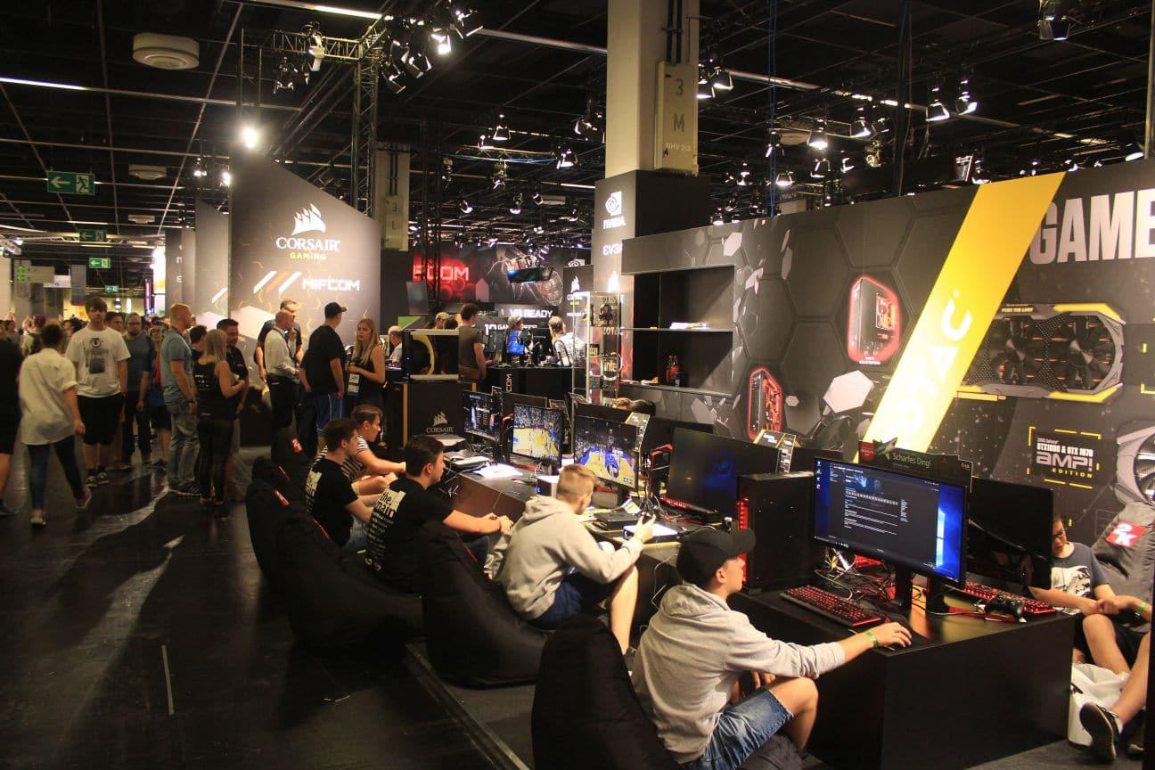 Gamescom'da boy gösteren oyunların neredeyse tümüne G2A'den ulaşılabiliyor. [Müfit Y. Gökmen/DijitalX]