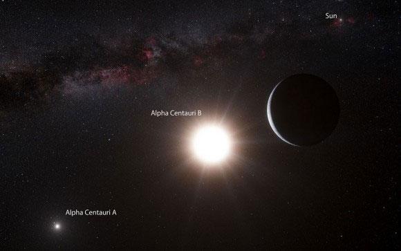 Alpha Centauri A ve B. [ESO]