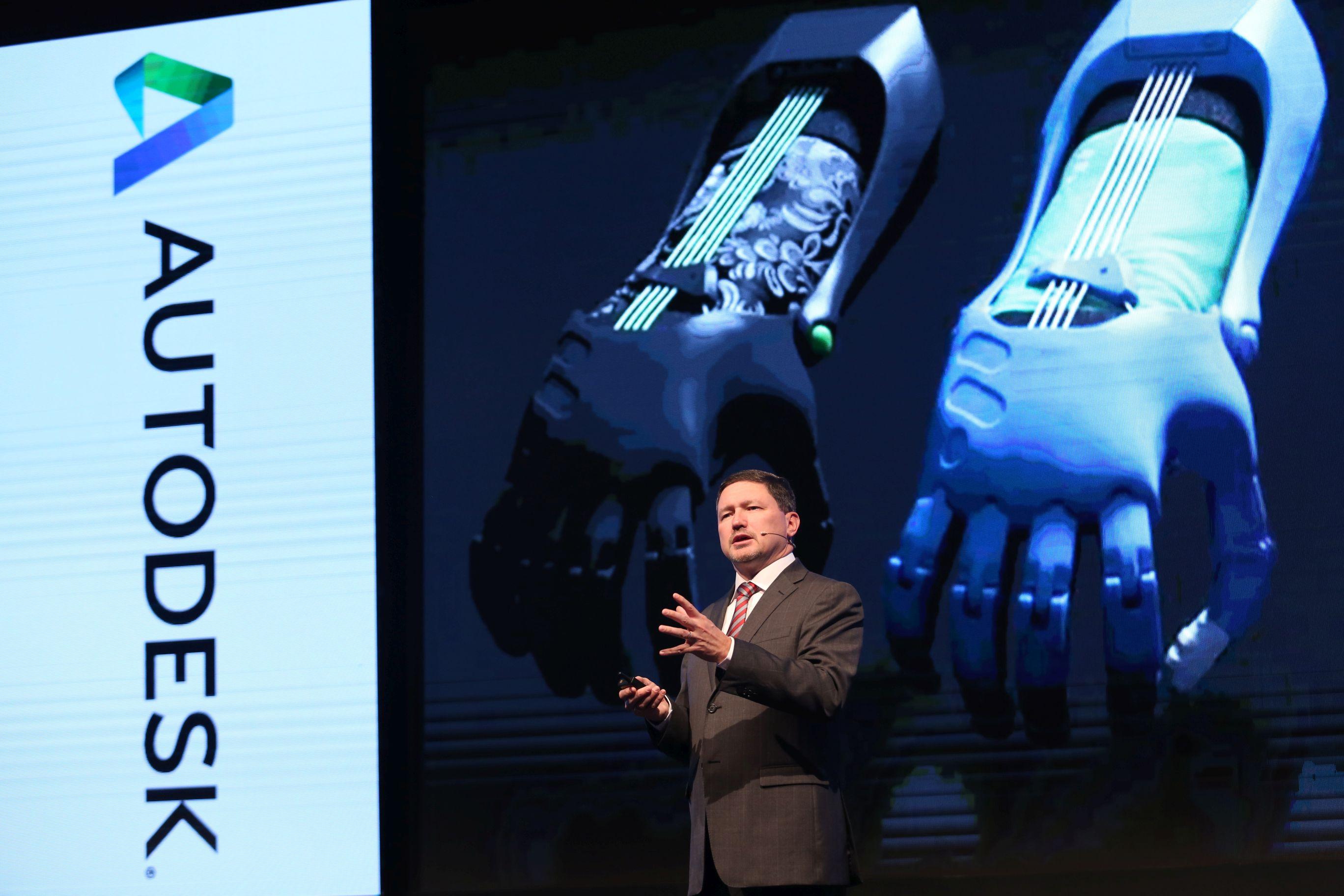 Autodesk Global Satış ve Hizmetler Başkan Yardımcısı Callan Carpenter.