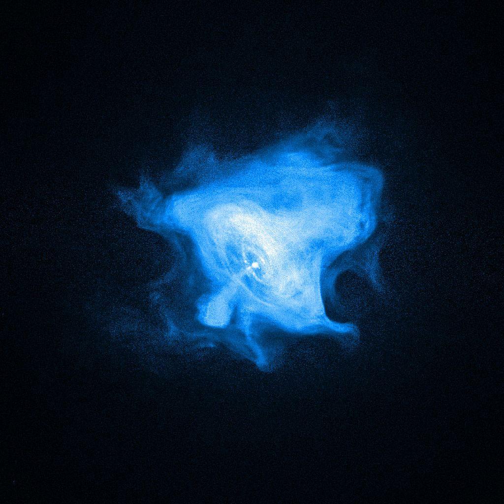 Chandra X-ray teleskobu kamerasından Yengeç Pulsarı. [NASA]