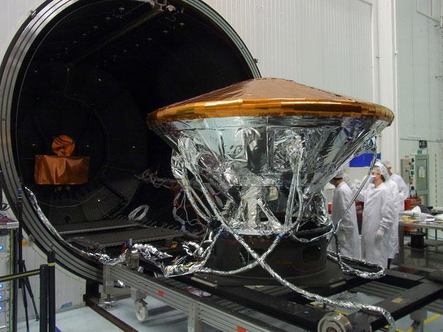 ExoMars ısı testlerinden birinde. [ESA]