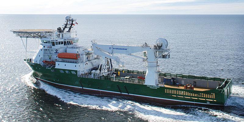 Fugro araştırma gemisi Havilia Harmony. [Fugro]