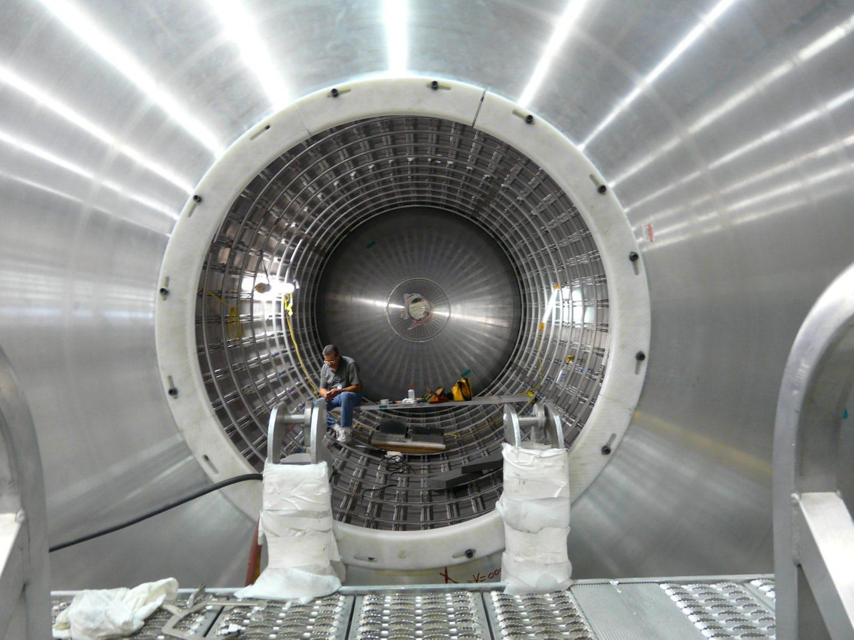 SpaceX yakıt tankı üretimi. [Reddit]
