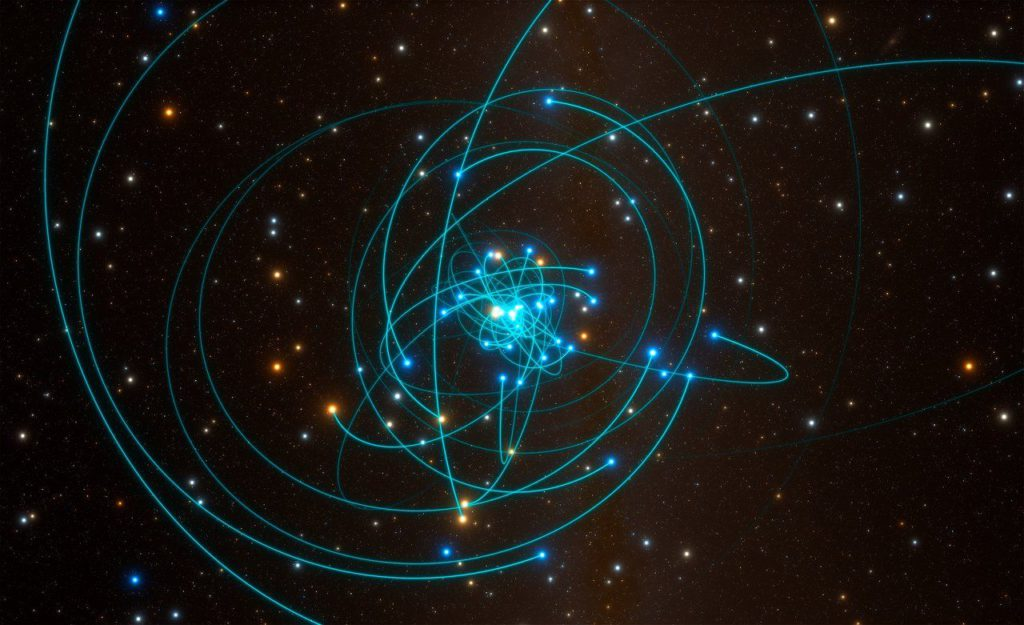 Observations made with ESO's Very Large Telescope have for the first time revealed the effects predicted by Einstein's general relativity on the motion of a star passing through the extreme gravitational field near the supermassive black hole in the centre of the Milky Way.